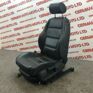 Audi A4 B6 2005 Convertible Cabriolet Front Passengers Left Leather Seat