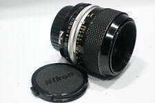 Nikon Micro-Nikkor-P 55mm 1:3.5 Pre-Ai 1:1 Macro lens fits  F3 FM SLR camera etc