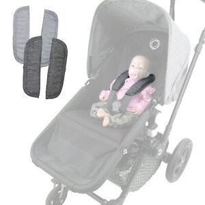 BAMBINIWELT Gurtpolster für Bugaboo Kinderwagen, Schulterpolster, universal