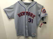 2004 Mike Piazza New York Mets Authentic On-field Grey Road size: 56