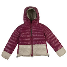 RRP €350 DUVETICA Down Quilted Jacket Size 6Y / 116CM Colour Block Drawcord Hem