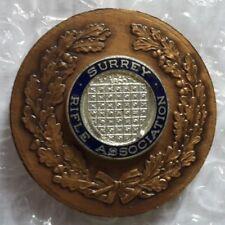 Medalla de la asociación de rifle medalla Surrey
