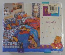 "Disney Winnie the Pooh Twin Bed Skirt 39"" in X 75"" in Mattress No-Iron Blend New"