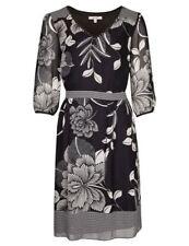 Per Una Monochrome Floral Dress