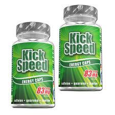 (18,38€/100g) Best Body Kick Speed 2 x 60 Kapseln Guarana-Extrakt Koffein