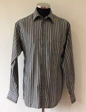 "Eton Ganghester Mens Shirt L 16"" Collar 44 Chest"