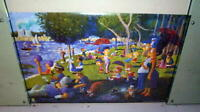 THE SIMPSONS Cool VINTAGE Poster in NEW CONDITION