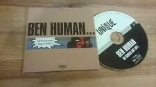 CD Indie ben Human-GO Human not APE (14) canzone PROMO Unique CB