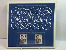1981 THE ROYAL WEDDING SOUVENIR BROCHURE M/NH STAMPS