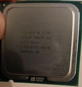 CPU INTEL Core 2 Duo E7500 2.93 Ghz 3 Mo 1066 Mhz LGA775 SLGTE