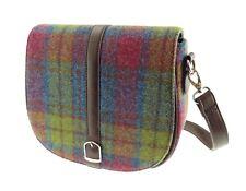 Ladies Authentic Harris Tweed Shoulder Bag Beauly Buchanan Tartan LB1000 COL46