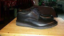 Banana Republic men/boys black dress, military,cadet Italian leather shoe 8 Mint
