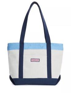 VINEYARD VINES Golf Clubs Classic Tote Bag Blue 2A3061 NWT $95