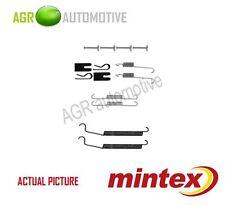 MINTEX REAR BRAKE SHOES SET FITTING KIT PIN SPRINGS GENUINE QUALITY - MBA891