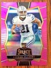 Ezekiel Elliott Dallas Cowboys Rookie Card RC 2016 Select Pink Refractor SP /15