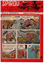 ▬► Spirou Hebdo n°1074 du 13 Novembre 1958