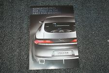 1 0f a 6 PACK * Promo Jaguar CXF Car * Large ORIGINAL Factory Postcard * New **