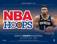 2020/21 Panini NBA Hoops Basketball BREAK (1) Hobby Box Random Team #001 READ