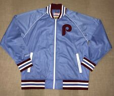 MITCHELL & NESS PHILADELPHIA PHILLIES WORLD CHAMPIONS WARM UP JACKET Blue 3xl