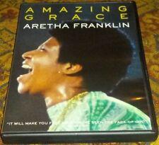 Amazing Grace DVD 2019 NEW Aretha Franklin James Cleveland documentary