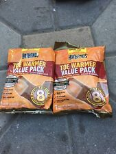 HOTHANDS HANDS TOE WARMER VALUE PACKS 2 Packs Total 14 Warmers Exp 06/21