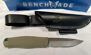 Benchmade Puukko 200 Bushcraft Knife. New In Box. Guaranteed Authentic.