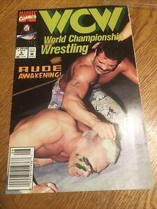 MARVEL COMICS: WCW WRESTLING #5 Ricky. RUDE.  PM2