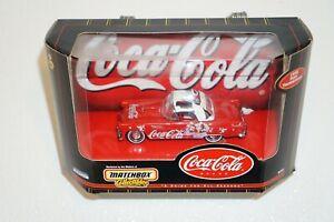 Matchbox Collectibles Coca Cola 1955 Ford Tbird Convertible 2000 *Damaged*