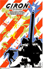Political cuban POSTER.Castro jump from tank.Giron.Bay of Pigs Cold War Art.29