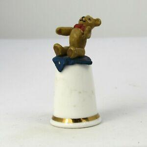 COLLECTABLE THIMBLE TEDDY BEAR