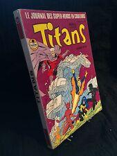 RELIURE TITANS N°45 / n°133 - 134- 135 (R18)