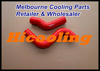 Red silicone radiator hose for HILUX KZN130GW 1KZ-TE 3.0 1993-1996 1KZTE DIESEL