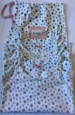 Mini Boden Age 9-10 Girls' 4 x Vintage Floral Vests Underwear & Bag