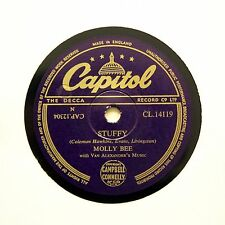 """MOLLY BEE """"Stuffy / In The Pyrenees"""" (E+) CAPITOL CL-14119 [78 RPM]"""