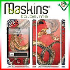 Skin adesiva PVC protettiva pellicola per iPhone 4 4S MASKINS Dragone JAPAN
