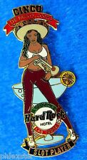 LAS VEGAS HOTEL CINCO DE MAYO SLOT SERIES SEXY TRUMPET GIRL Hard Rock Cafe PIN