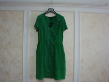 NWT $298 MARC BY MARC JACOBS MARIKO TOURMALINE GREEN SILK LACE DRESS 8