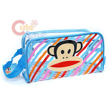 Paul Frank Clear Pouch Bag  Cosmetic Bag Beach Pouch Bag Blue  9.5""