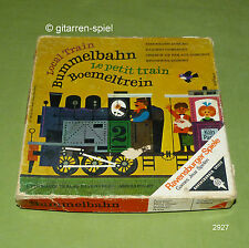 Bummelbahn Eisenbahn-Domino ab 5 Jahren von Ravensburger ©1968 Top rar!