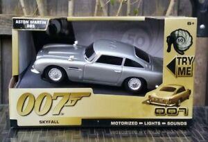TOY STATE 62014 JAMES BOND 007 ASTON MARTIN DB5 MOTORISED LIGHTS & SOUNDS NEW!