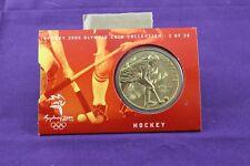 Australian Sydney 2000 Olympic Coin Collection 5 of 28 'Hockey'