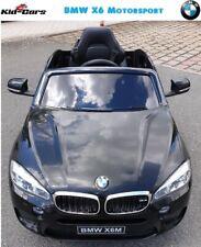 Kinderauto BMW X6M 2x 45W Motoren SUV Kinderfahrzeug mit 2 Akkus Elektroauto ATV