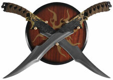 """18.75"""" Legolas Elven Swords with Wooden Plaque Display Wall Hanger Brand New"""