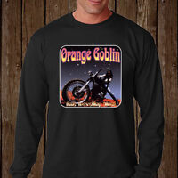 New Orange Goblin Heavy Metal Rock Band Long Sleeve Black T-Shirt Size S to 3XL