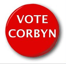 "VOTE CORBYN  - 25mm 1"" Button Badge - Novelty Election Brexit Labour"