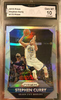 2015-16 Panini Prizm Silver Stephen Curry SP Golden State Warriors GEM MINT 10
