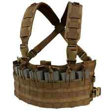 Condor MCR6 COYOTE MOLLE Rapid Assault Chest Rig w/Rifle Magazine Pouches
