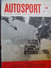 Autosport January 16th 1959 *Monte Carlo Rally Preview*