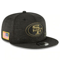 San Francisco 49ers New Era 2020 Salute to Service Sideline 9FIFTY Snapback Hat