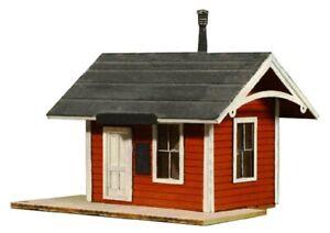 """HO Scale - Branchline Depot """"LASER CUT WOOD Building KIT"""" AME-790"""